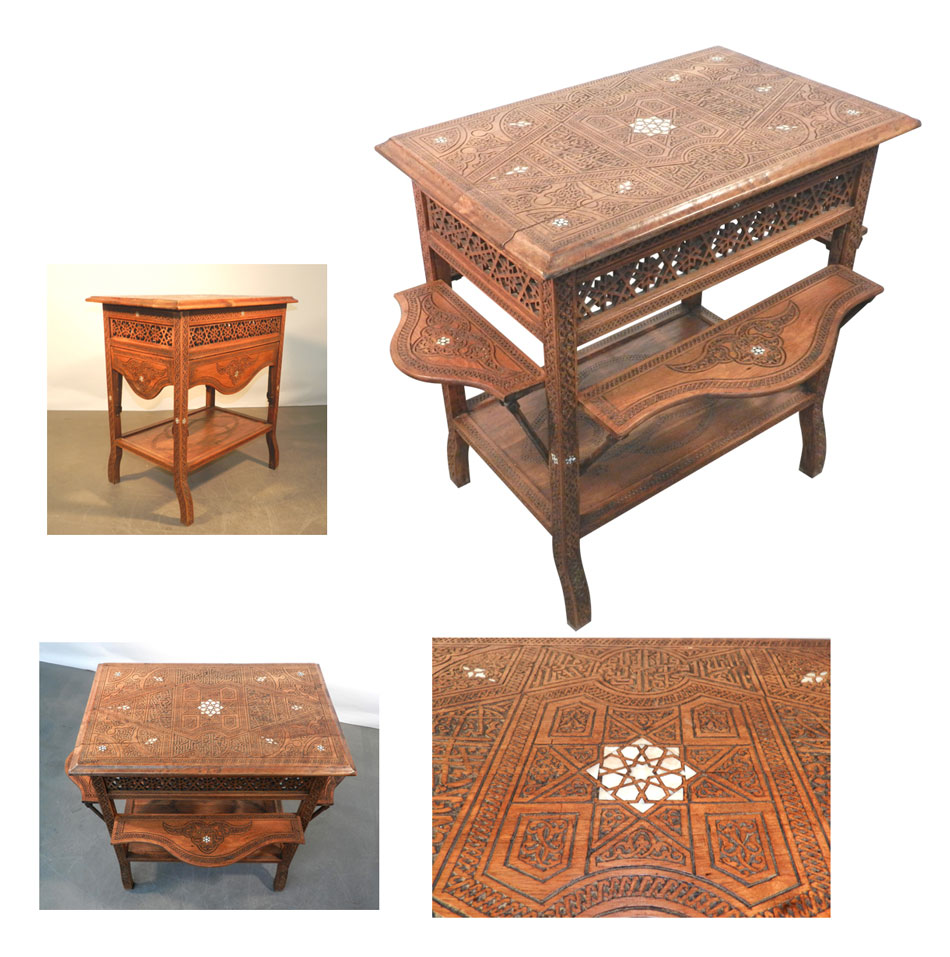 TABLE SYRIENNE
