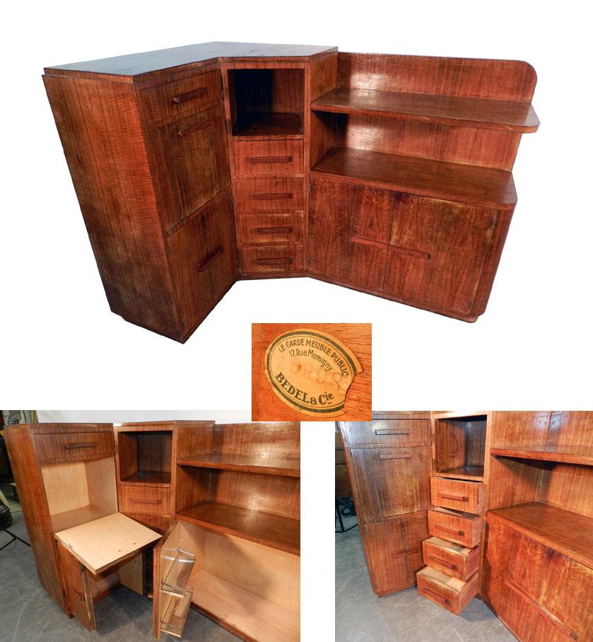 ad 761 travail du faubourg paris 1930 meuble de. Black Bedroom Furniture Sets. Home Design Ideas