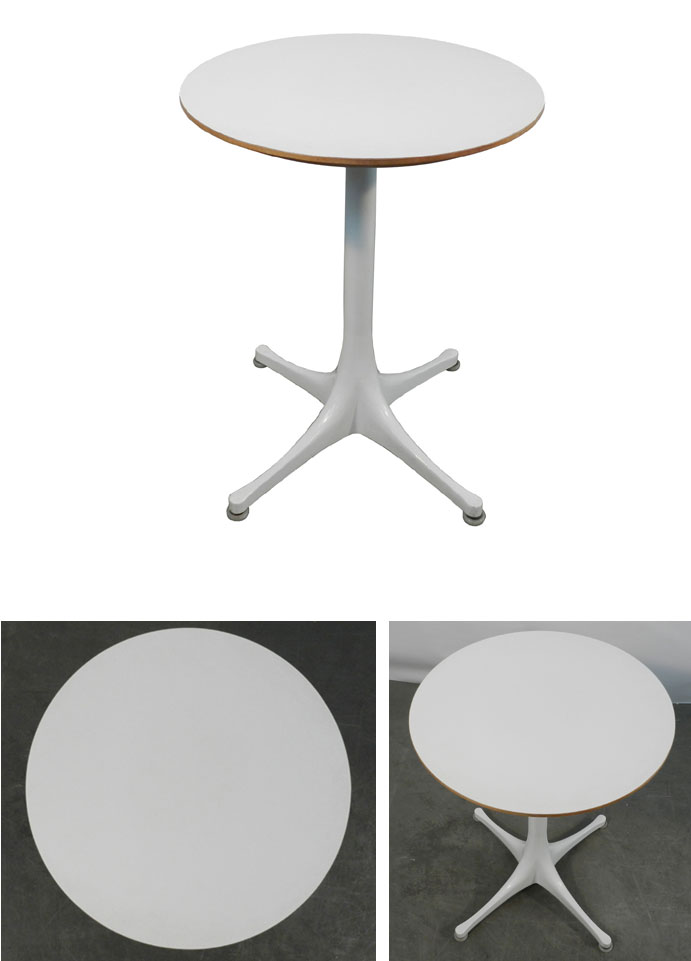 Mod 791 georges nelson table d 39 appoint en metal et bois for Table d appoint moderne