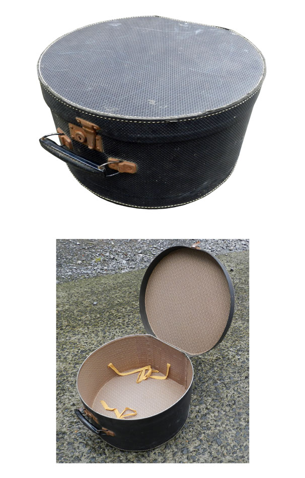 ins 882 boite a chapeau debut xx eme. Black Bedroom Furniture Sets. Home Design Ideas