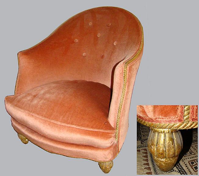 ad 0062 sue et mare attribue a fauteuil bergere d 39 epoque 1930. Black Bedroom Furniture Sets. Home Design Ideas